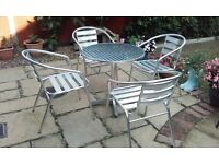 Patio Table & Chairs for Sale