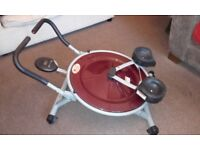 Abcircle Pro exercise equipment, used but in good working order