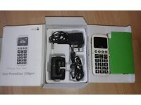 Doro 338gsm simple to use mobile handset, ideal for elderly relative, little used, boxed