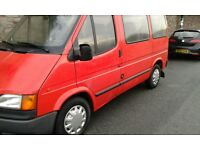 Ford Transit left hand drive 1993 2.5 diesel crew cab