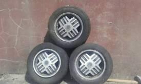 Renault wheel rims.