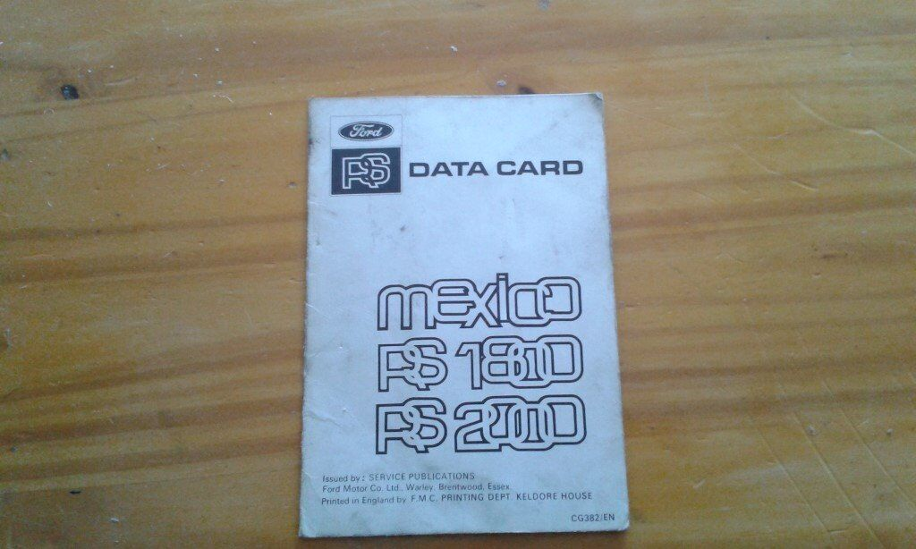 RS Mexico data card