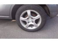 14 inch alloy wheels and tyres