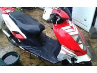 argon cpi racing moped 50 cc spares or repairs 2009