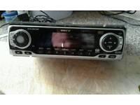 Car radio/ CD flips down