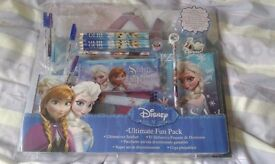 Frozen Ultimate stationery pack, new in oriinal packaging