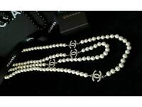 Seed pearls chanel beads
