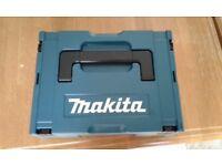 Makita stackable box