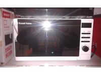 BRAND NEW !!! MICROWAVE = Russell Hobbs = 20 LITRES RRP £ 99 Special offer !!!