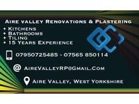 Aire Valley Renovations & plastering