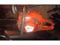 52cc petrol chainsaw used