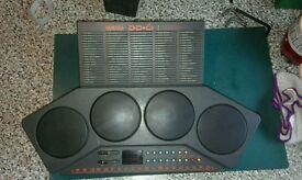 Vintage Yamaha DD6 electronic drums