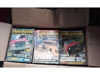 55 landrover owners magazines from 2007-1998