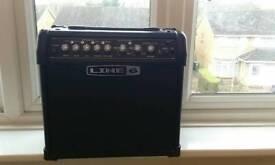 Guitar amp Line 6 IV 15 watt.