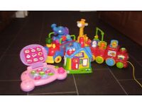 Bundle of Toys Fisher Price/V Tech/ age 18m-3yrs