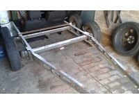 ALKO CHASSIS TWIN AXLE CAR TRANSPORTER BOAT TRAILER