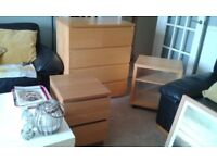 Large chest of drawers/bedside cabinets