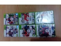 XBOX 360 Massive Games bundle with 21 games