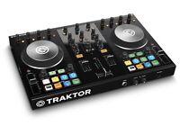 TRAKTOR KONTROL S2 mk2 DJ CONTROLLER - HARDLY USED, LIKE BRAND NEW!!!