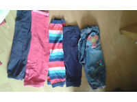 Bundle of girl clothes 18 - 24 Months (2-3 YEARS ) + NIKE SHOES SIZE 6