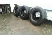 Tyres 3 super singles