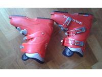 Salomon Performa T3 red ski boots, size 4 / 23.0