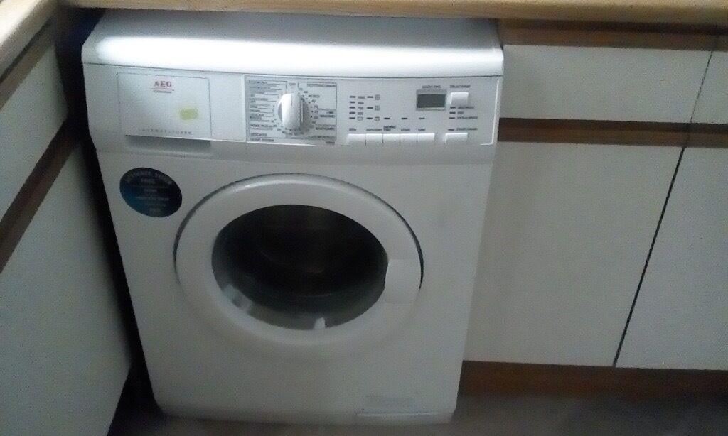 aeg lavamat turbo instructions