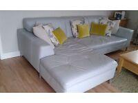 Genuine leather 4 seater corner sofa for sale
