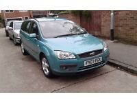 Ford Focus 1.6 auto petrol with lpg conversion