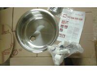 New Reginox round sink