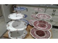 4 x CAKE STANDS