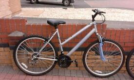 Apollo XC26 Ladies Mountain Bike 21 gears 20'' frame 23'' wheels. Immaculate, as new.