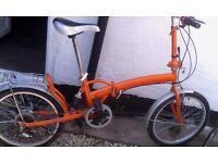 Sunlova fold up bike