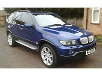 06/06 BMW X5 3.0D SPORT EDITION AUTO FSH FUL MOT HPI CLEAR SAT-NAV PAN/ROOF MEMORY HEATED LEATHER ,