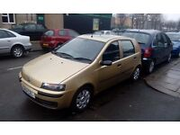 FIAT PUNTO 1.2 AUTOMATIC LONG MOT OCTOBER 2017 PX WELCOME