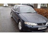 Vauxhall Opel Vectra Sport, 5Door 5 Speed, Hatch, 2001, Petrol, Full Years MOT, Low Miles.