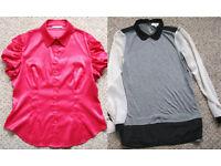 Ladies Tops, sizes 12-20, £1 - £2.50 each