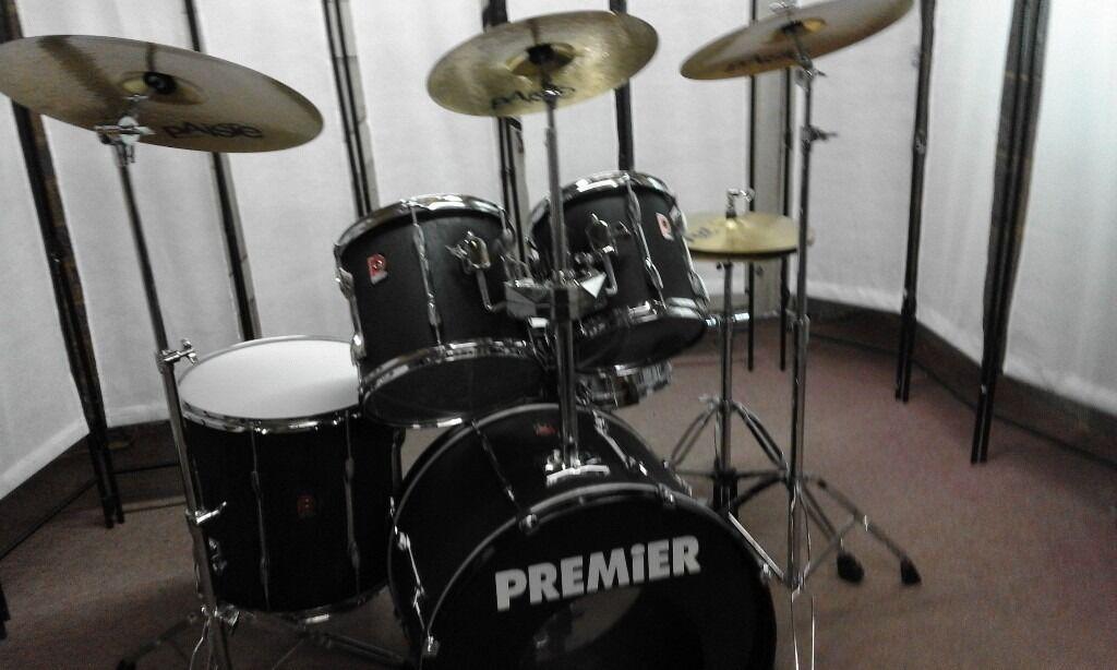 retired drum teacher has a premier 39 apk 39 drum set for sale in princes risborough. Black Bedroom Furniture Sets. Home Design Ideas