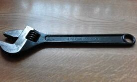 adjustable Wrench 12inch U.S.A