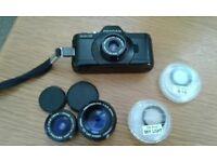 Pentax Auto 110 miniature SLR Camera