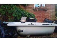 Free metal bath maybe for allotment garden pond or scrap metal