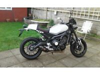 Mint condition yamaha xsr 900 with £1800 genuine extras.