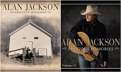 Alan Jackson Precious Memories Volume 1 and 2 CD Set on Rummage