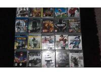 20 playstation 3 gamed £10