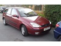 Ford Focus, 1.4 petrol, MOT until March, Air Con, Very good condition inside and out £650