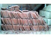 Terracotta pantiles New - Approximately 450 tiles