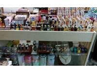 Shop counter display unit
