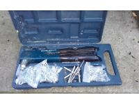 Pop rivet gun with different size pop rivets and case,only £4,pos local delivery