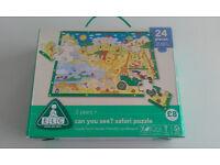 ELC 24 piece Safari Floor Puzzle