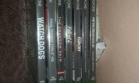 Bundle of xbox one games
